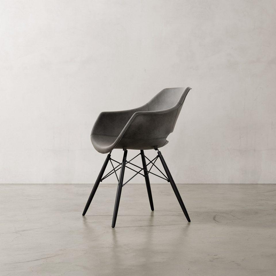 Julia-Armchair-Nubuck-Black-1