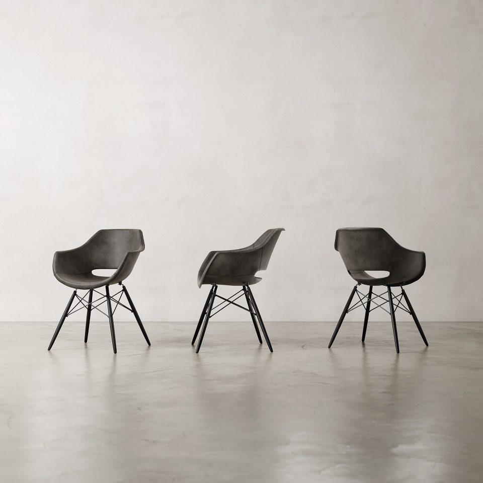 Julia-Armchair-Nubuck-Black-3